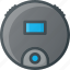 cleaner, home, smart, vacuum icon