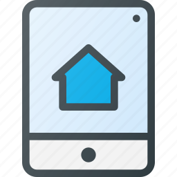 app, smarthome, tablet icon