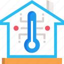 control, smart home, temperature, temperature control icon