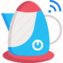 boil, electric kettle, kettle, water boiler icon