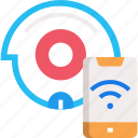 automatic, cleaner, roomba icon