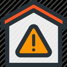 alert, building, error, home, property, smart icon