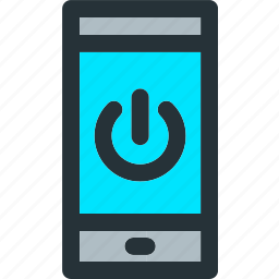 device, electricity, energy, mobile, phone, power, smartphone icon