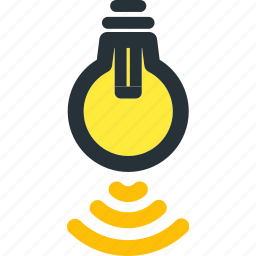 device, gadget, lamp, network, smart, smartphone, technology icon