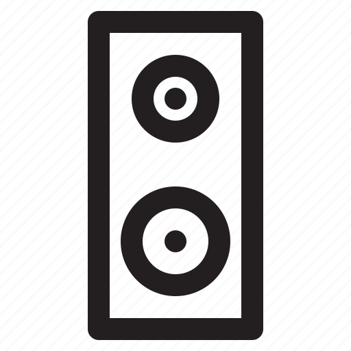 home, smart, sound, speaker icon