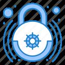 control, home, lock, smart icon