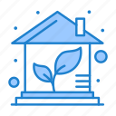 eco, green, home, house icon