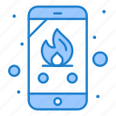 call, emergency, fire, phone icon