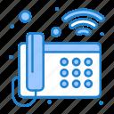 landline, phone, telephone, wifi icon