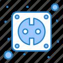 electric, plug, smart, socket icon