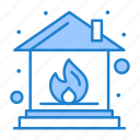fire, home, insurance icon