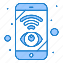 control, mobile, network, view, wifi icon
