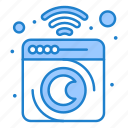 clean, device, home, laundry, machine, mashing icon