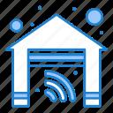 garage, home, house, smart icon