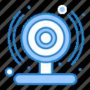 cam, smart, web icon
