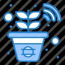 farm, plant, smart icon