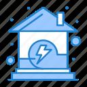 energy, home, house, power icon