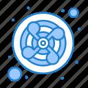 exhaust, fan, kitchen, ventilation icon