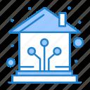 control, home, network, smart icon