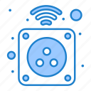 electricity, electronic, home, plug, power icon