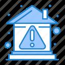 alert, building, error, home, property icon