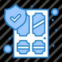 antivirus, door, home, protect, security icon