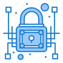 cyber, data, lock, network, private, protection, security icon