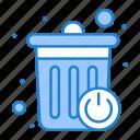 basket, bin, dustbin, recycle, smart icon