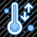 smart, temperature, thermometer, weather icon