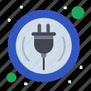 home, plug, smart, wire icon
