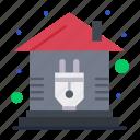 control, home, plug, smart icon