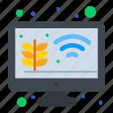 farm, farming, gardening, growth, monitor, smart icon