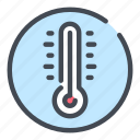 cold, configuration, hot, settings, temperature, thermometer, weather