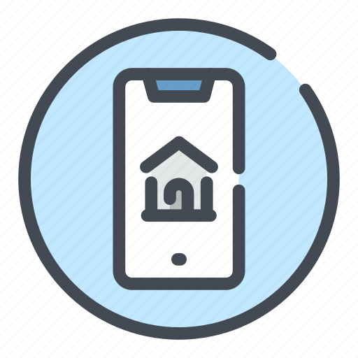 Connection, home, house, mobile, online, phone, smartphone icon - Download on Iconfinder