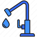 drop, eco, ecology, environment, faucet, tap, water icon