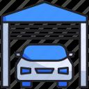 car, garage, home, parking, smart, sport, transportation