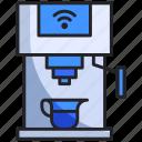 beverage, coffee, drink, home, kitchen, machine, smart
