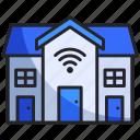 apartment, building, home, hotel, house, internet, smart