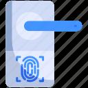 door, finger, home, knob, print, security, smart