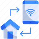 control, gadget, home, house, phone, smart, smartphone icon