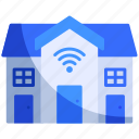 apartment, building, home, hotel, house, internet, smart