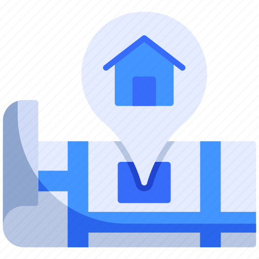 Home, house, location, map, pin, place, smart icon - Download on Iconfinder
