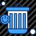 bin, delete, recycle, trash