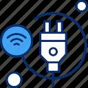 cable, home, plug, smart