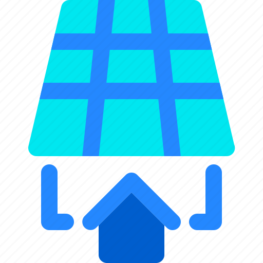 Energy, house, panel, smart, solar icon - Download on Iconfinder