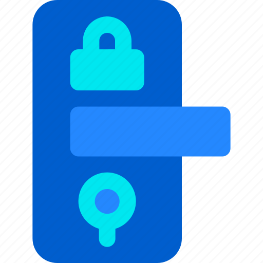 Door, house, key, lock, safety, smart icon - Download on Iconfinder
