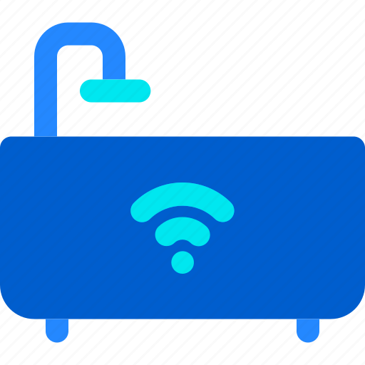 Bath, house, smart, tub, water icon - Download on Iconfinder