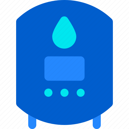 Fire, heater, hot, house, smart, water icon - Download on Iconfinder