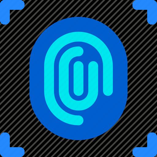 Door, fingerprint, house, login, security, smart icon - Download on Iconfinder