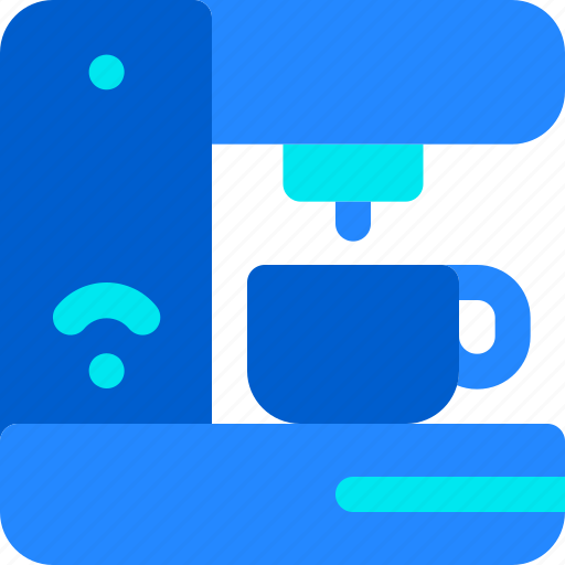 Coffee, hot, house, machine, smart icon - Download on Iconfinder